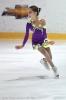фиолетовое платье на льду