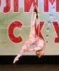 воздушный гимнастический костюм
