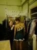Платье в процессе работы