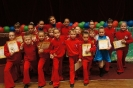 детский спортивный коллектив после выступления