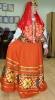 оранжевй русконародный костюм